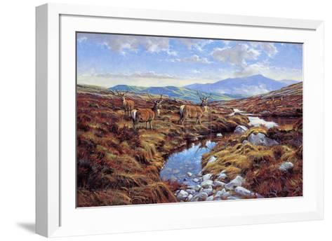 Stags-Peter Munro-Framed Art Print