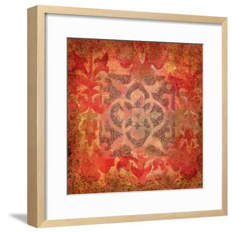 Rouge Nouveau I-Jennifer Hollack-Framed Art Print