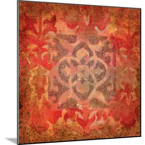 Rouge Nouveau I-Jennifer Hollack-Mounted Art Print