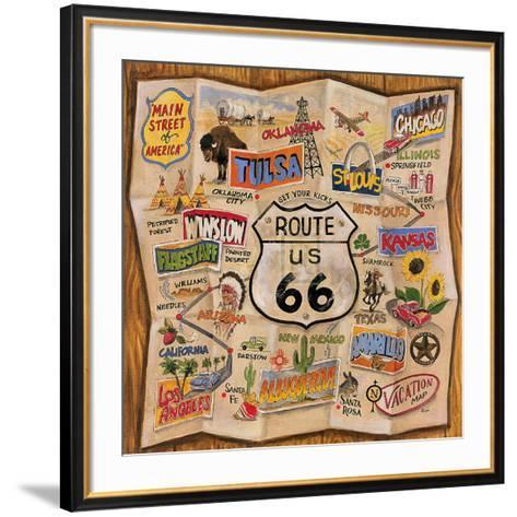 Route 66-Karen Dupr?-Framed Art Print