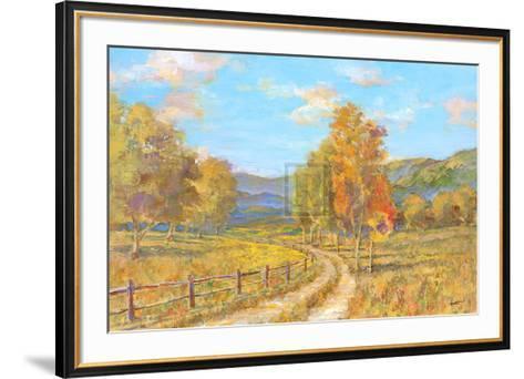 Country Road-Michael Longo-Framed Art Print