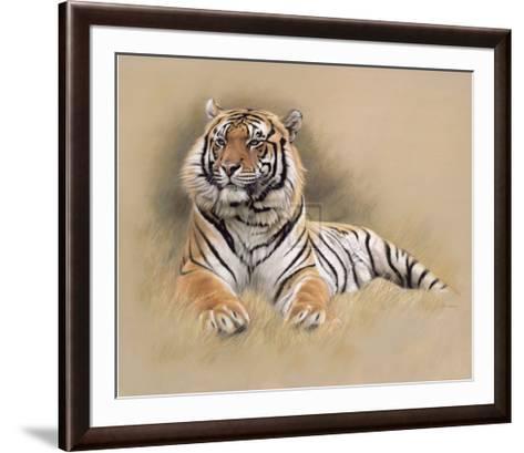 Tiger-Gary Stinton-Framed Art Print