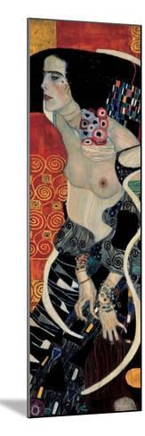 Judith II-Gustav Klimt-Mounted Art Print