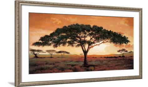 Memories of Masai Mara-Madou-Framed Art Print
