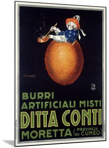 Moretta Butternut Cream-Achille Luciano Mauzan-Mounted Giclee Print