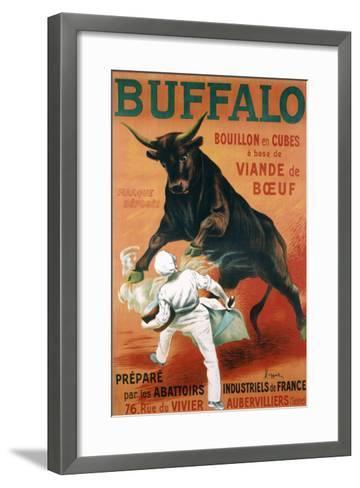 Buffalo Bouillon-Leonetto Cappiello-Framed Art Print