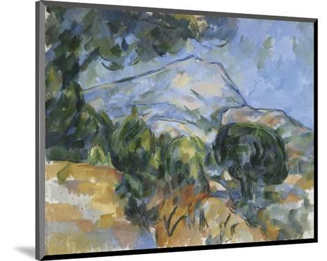 Mount Sainte-Victorie, c.1904-Paul C?zanne-Mounted Art Print