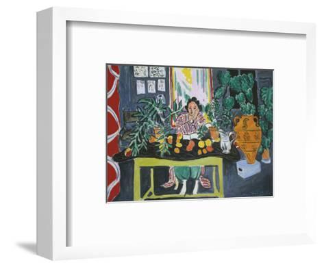 Interior with an Etruscan Vase, c.1940-Henri Matisse-Framed Art Print