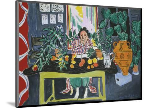 Interior with an Etruscan Vase, c.1940-Henri Matisse-Mounted Art Print