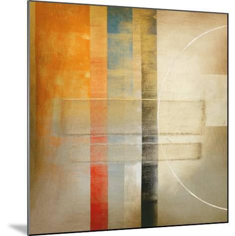 Geometrics I-Darian Chase-Mounted Art Print