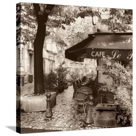 Cafe, Aix-en-Provence-Alan Blaustein-Stretched Canvas Print