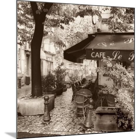 Cafe, Aix-en-Provence-Alan Blaustein-Mounted Art Print