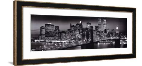 Manhattan-Richard Berenholtz-Framed Art Print