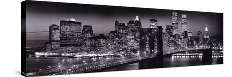 Manhattan-Richard Berenholtz-Stretched Canvas Print