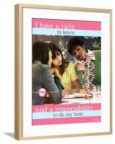 Do My Best--Framed Art Print