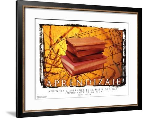 Aprendizaje- Learning--Framed Art Print
