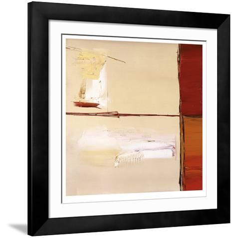 Crimson Confusion-Stefan Fiedorowicz-Framed Art Print