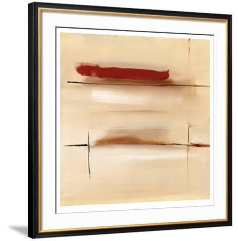 Dominant Red-Stefan Fiedorowicz-Framed Art Print