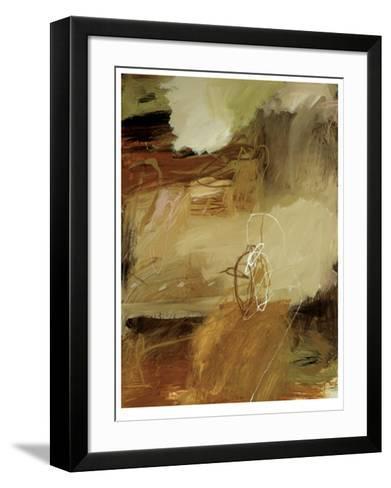 Tawny Grass Bird I-Wade Owen-Framed Art Print