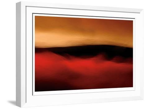 Red Sand II-John Rehner-Framed Art Print