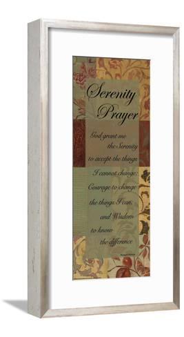 Serenity Prayer-Marilu Windvand-Framed Art Print