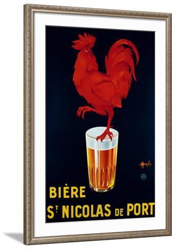 Biere St. Nicolas de Port-Marcellin Auzolle-Framed Art Print