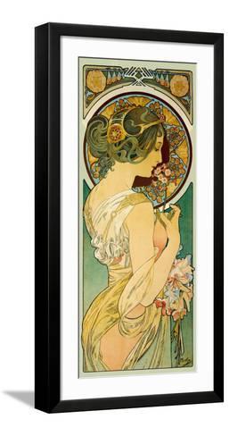 La Primevere-Alphonse Mucha-Framed Art Print