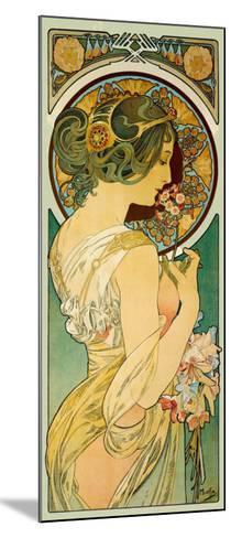La Primevere-Alphonse Mucha-Mounted Giclee Print