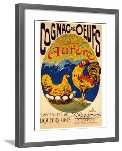 Cognac aux Oeufs--Framed Art Print