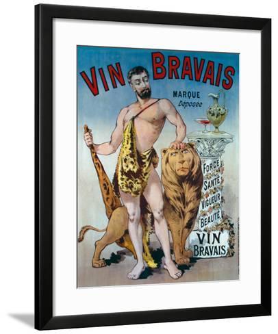 Vin Bravais--Framed Art Print