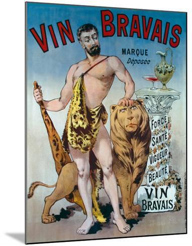 Vin Bravais--Mounted Giclee Print