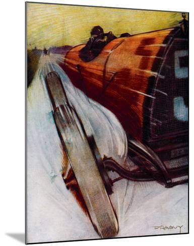 Voitures de Courses- Draguy-Mounted Giclee Print