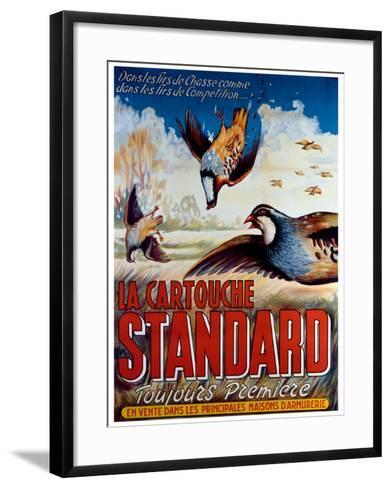 La Cartouche Standard--Framed Art Print