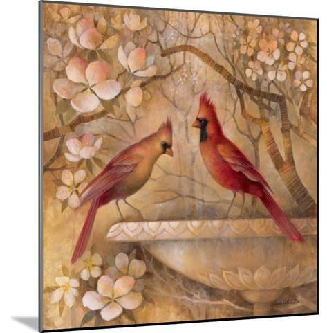 Elegance in Red II-Elaine Vollherbst-Lane-Mounted Art Print
