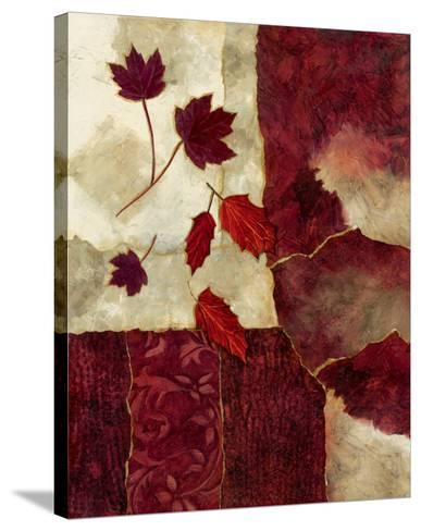 Cranberry Fall II-Norm Olson-Stretched Canvas Print