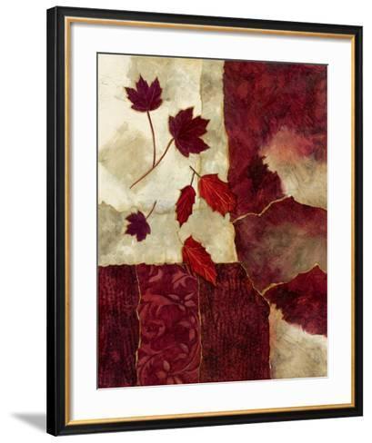 Cranberry Fall II-Norm Olson-Framed Art Print
