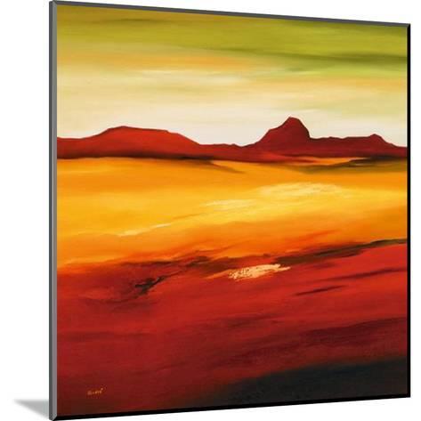 Australian Landscape II-Andre-Mounted Art Print