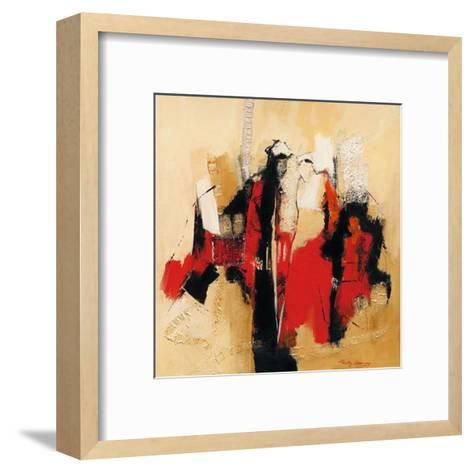 Follow Me I-Ricky Damen-Framed Art Print
