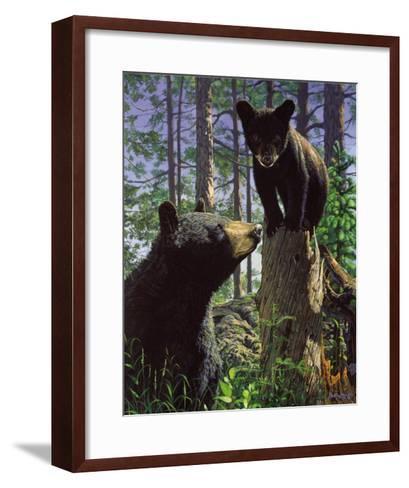 Stump Jumper-Bruce Miller-Framed Art Print