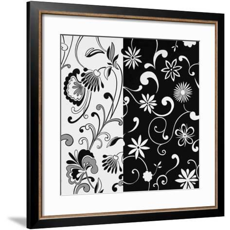 Formas Florales II--Framed Art Print