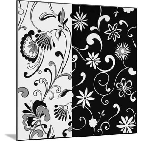 Formas Florales II--Mounted Art Print