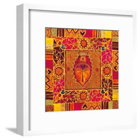 Eloge d'Une Reine Sous les Tambours Rieurs-Marie Goyat-Framed Art Print