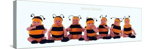 Bumblebee Babies-Anne Geddes-Stretched Canvas Print