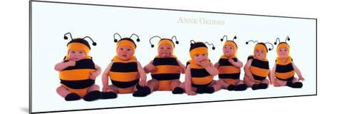 Bumblebee Babies-Anne Geddes-Mounted Art Print