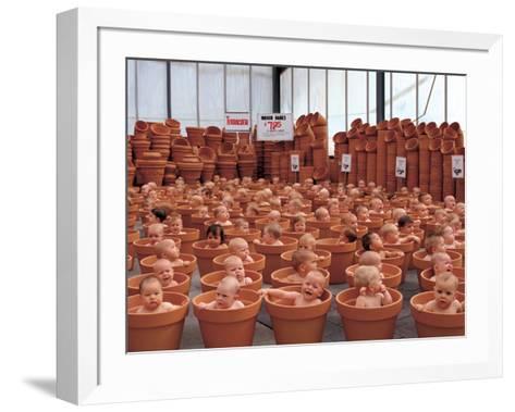 123 Pots-Anne Geddes-Framed Art Print