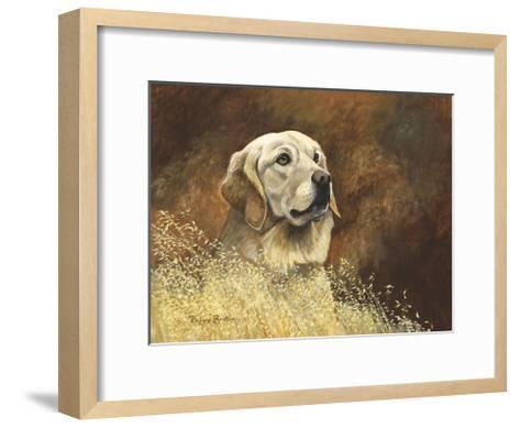 Golden Labrador-Richard Britton-Framed Art Print