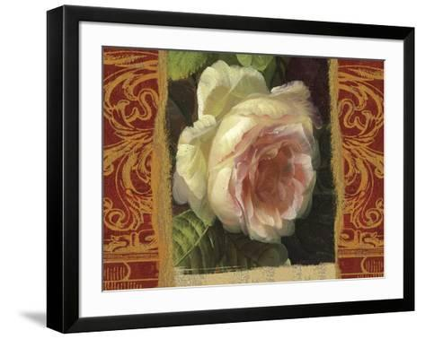 Classic White Rose-Tony Lupas-Framed Art Print