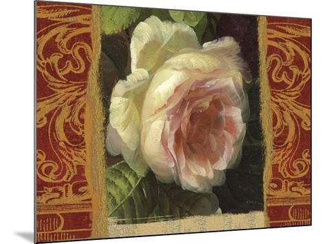Classic White Rose-Tony Lupas-Mounted Art Print