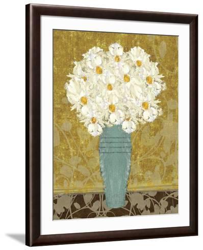Bouquet of Daisies II-Ailix Honnekker-Framed Art Print