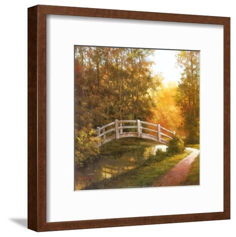 Wooden Bridge-T^ C^ Chiu-Framed Art Print